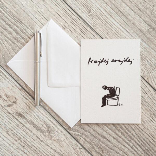 kartka pocztowa black friday